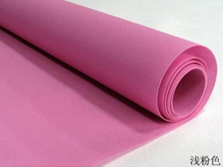 浅粉色无纺布